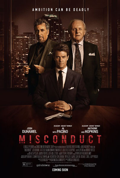 Misconduct (2016) - Movie Poster