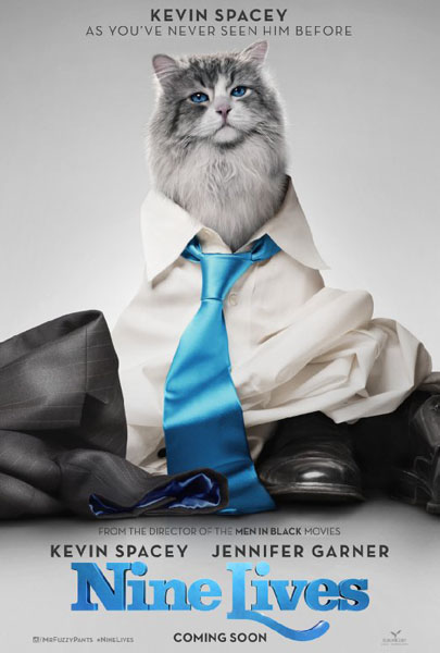 Nine Lives (2016) - Movie Poster