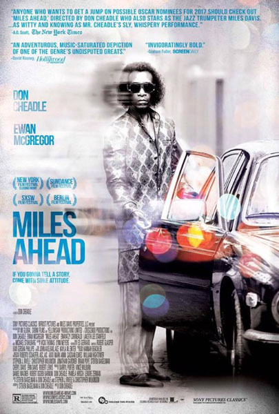 Miles Ahead (2015) - Movie Poster
