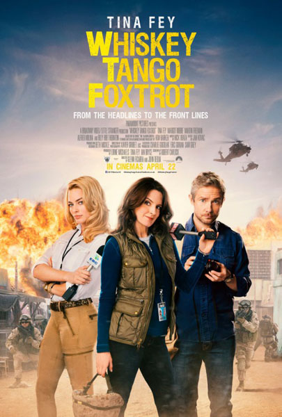 Whiskey Tango Foxtrot (2016) - Movie Poster