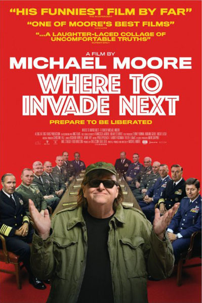 Where to Invade Next (2015) - Movie Poster