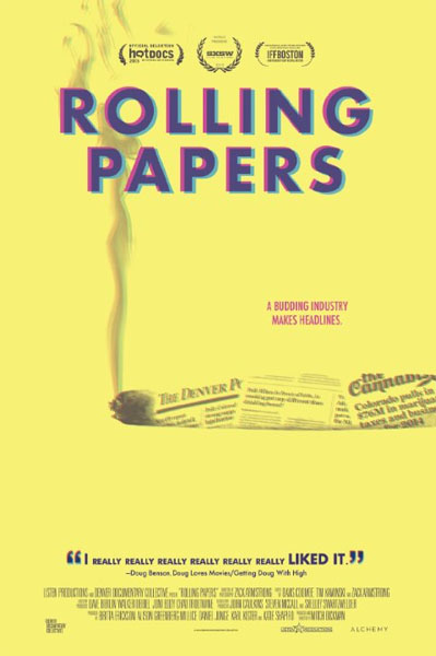 Rolling Papers (2015) - Movie Poster