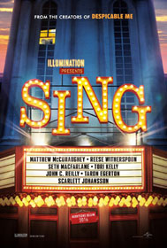 Sing (2016) - Movie Poster