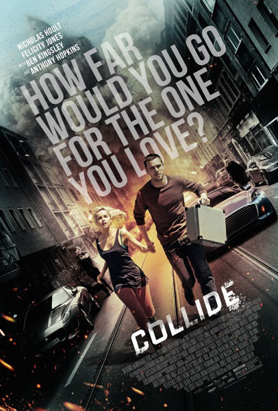 Collide (2016) - Movie Poster