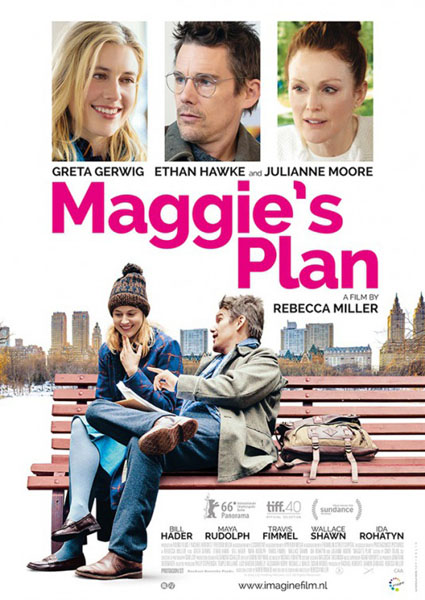 Maggie\'s Plan (2015) - Movie Poster