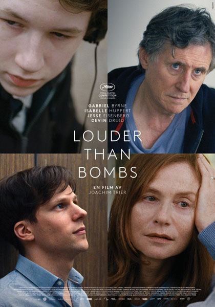 Louder Than Bombs (2015) - Movie Poster