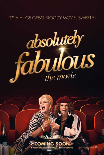 Absolutely Fabulous: The Movie (2016) - Movie Poster