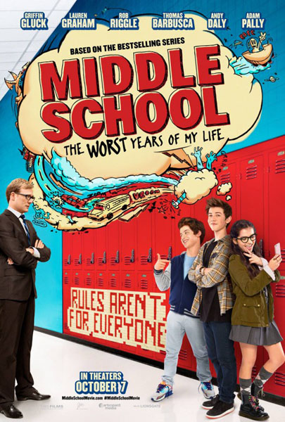 Middle School: The Worst Years of My Life (2016) - Movie Poster