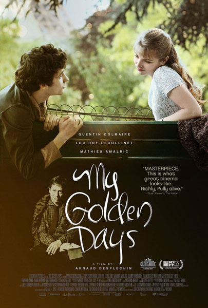 My Golden Days (2015) - Movie Poster