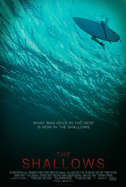 The Shallows (2016) - Movie Poster