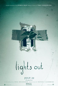Lights Out (2016) - Movie Poster