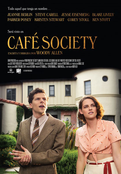 Café Society (2016) - Movie Poster