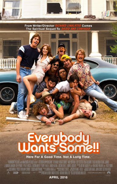 Everybody Wants Some (2016) - Movie Poster