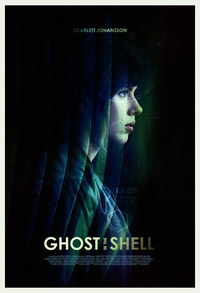Ghost in the Shell (2017) - Movie Poster