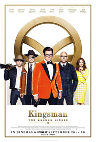 Kingsman: The Golden Circle (2017) - Movie Poster