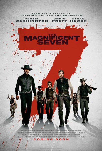 Magnificent Seven, The (2016) - Movie Poster