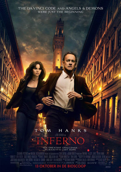 Inferno (2016) - Movie Poster