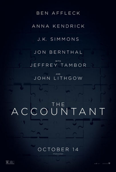 Accountant, The (2016) - Movie Poster