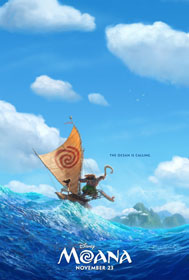 Moana (2016) - Movie Poster