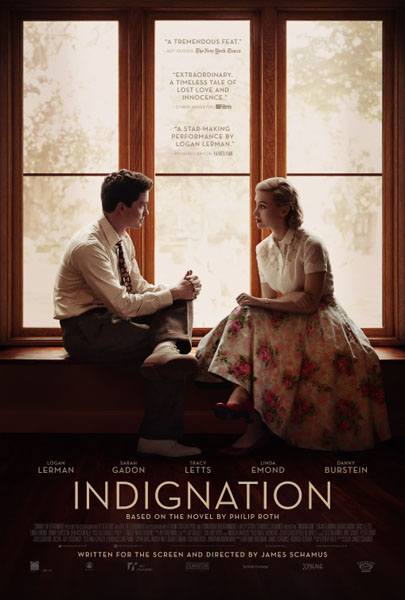Indignation (2016) - Movie Poster