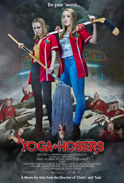 Yoga Hosers (2016) - Movie Poster