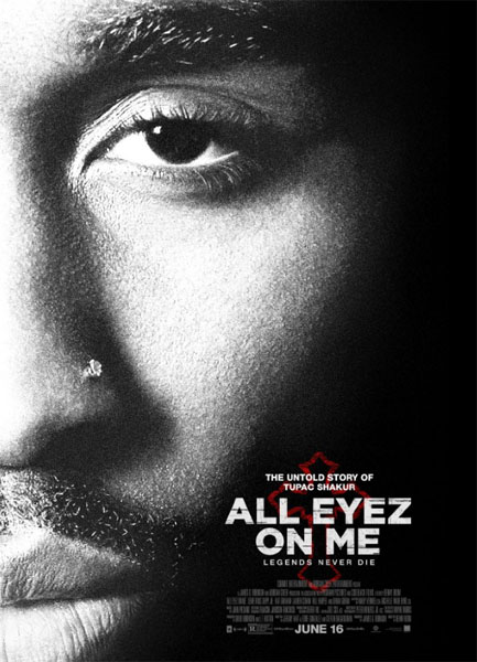 All Eyez on Me (2016) - Movie Poster