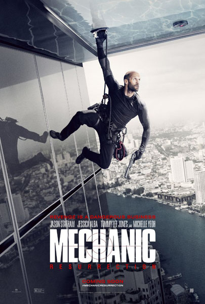 Mechanic: Resurrection (2016) - Movie Poster