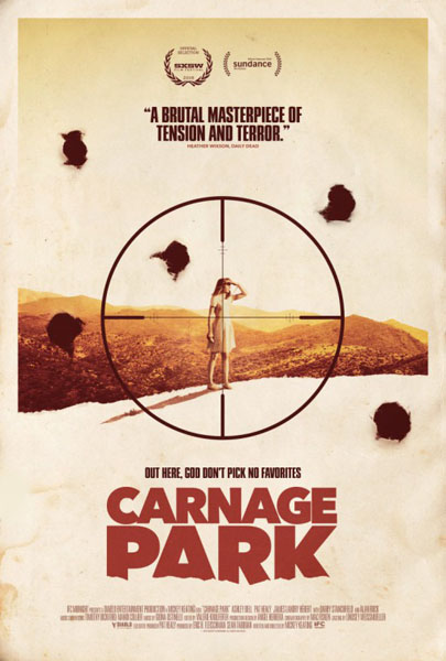 Carnage Park (2016) - Movie Poster