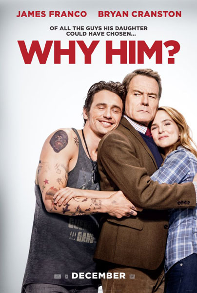 Why Him? (2016) - Movie Poster