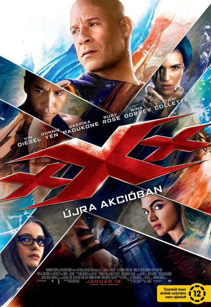 xXx: The Return of Xander Cage (2017) - Movie Poster
