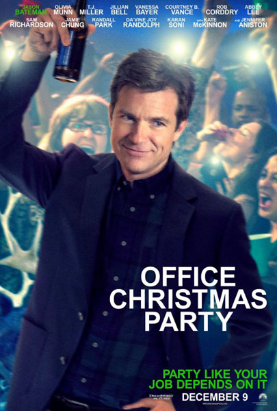 Office Christmas Party (2016) - Movie Poster
