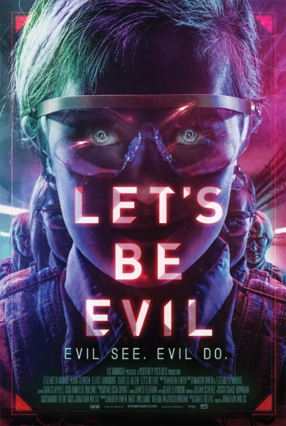 Let\'s Be Evil (2016) - Movie Poster