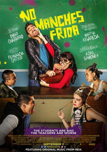 No manches Frida (2016) - Movie Poster