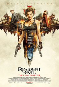 Resident Evil: The Final Chapter (2016) - Movie Poster
