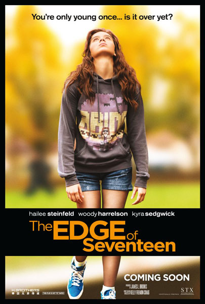 The Edge of Seventeen (2016) - Movie Poster