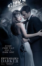 Fifty Shades Darker (2017) - Movie Poster