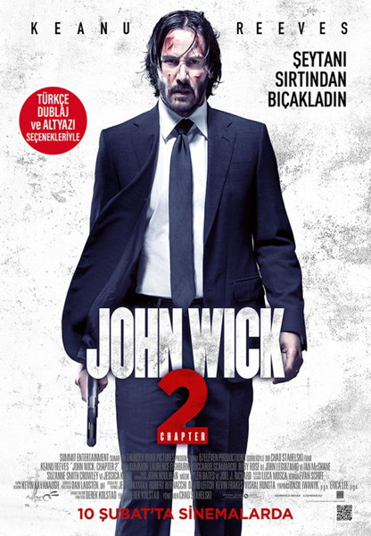 John Wick: Chapter Two (2017) - Movie Poster
