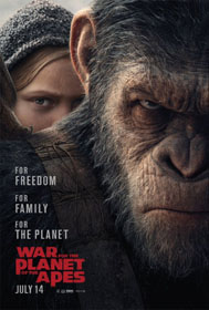 War for the Planet of the Apes (2017) - Movie Poster