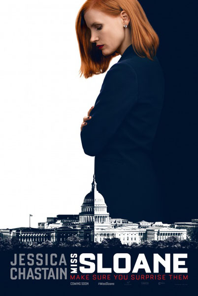Miss Sloane (2016) - Movie Poster