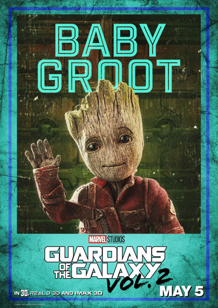 Guardians of the Galaxy Vol. 2 (2017) - Movie Poster