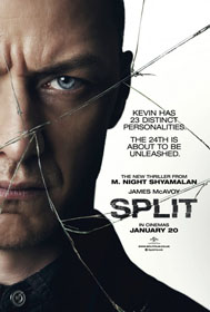 Split (2016) - Movie Poster