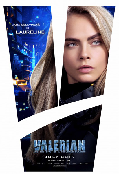 Valerian and the City of a Thousand Planets (2017) - Movie Poster