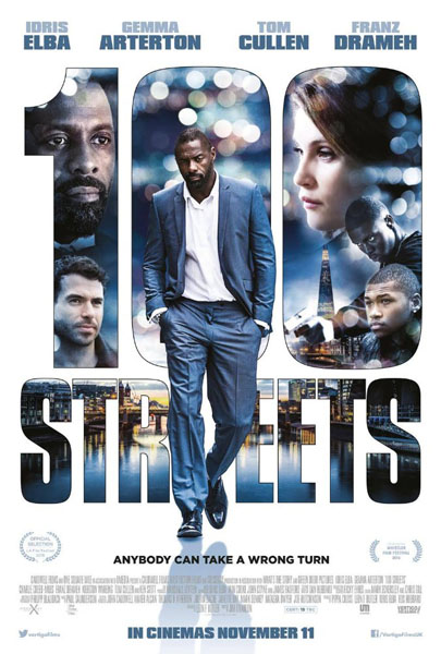 100 Streets (2016) - Movie Poster