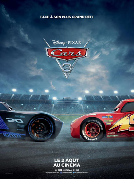 Cars 3 (2017) - Movie Poster