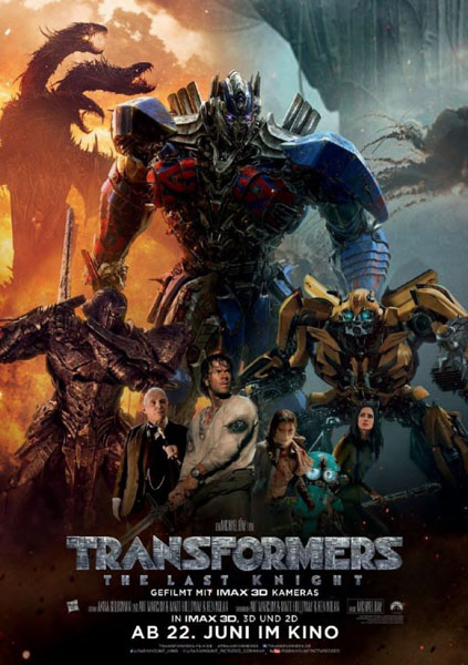 Transformers: The Last Knight (2017) - Movie Poster