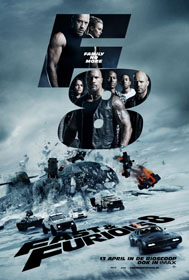 Fate of the Furious, The (2017) - Movie Poster