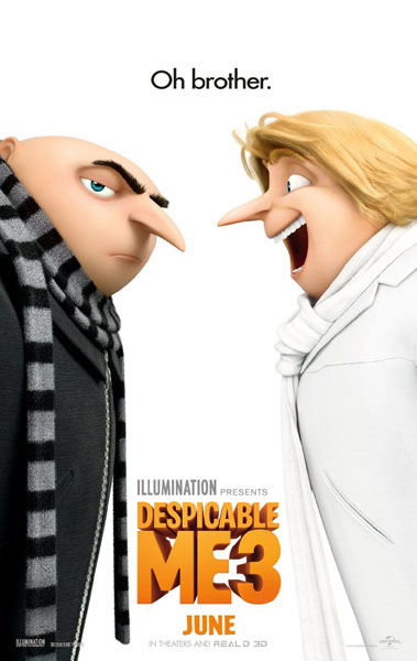 Despicable Me 3 (2017) - Movie Poster