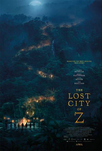 Lost City of Z, The (2016) - Movie Poster
