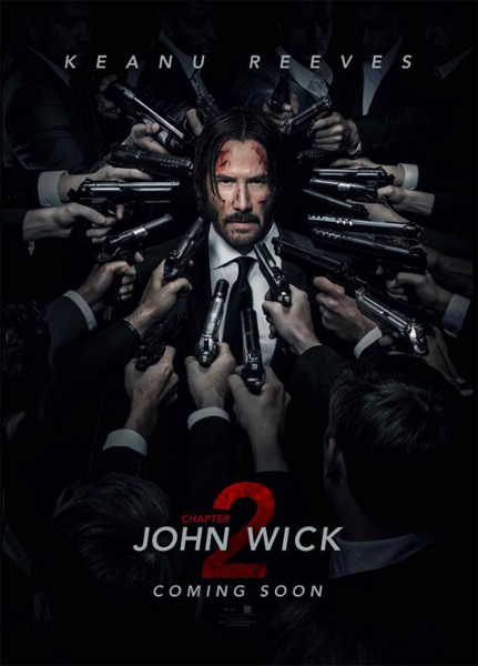 John Wick: Chapter 2 (2017) - Movie Poster