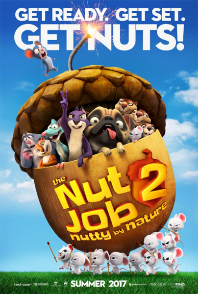 The Nut Job 2: Nutty by Nature (2017) - Movie Poster